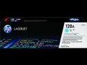 HP 128A Cyan Original LaserJet Toner Cartridge (CE321A)