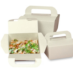 Plain Food Packaging Boxes