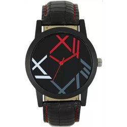 Black Casual Wear Mens Fashion Analog Watch, Model Name/Number: NX00012