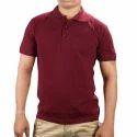 Unisex Cotton Corporate Collar T-Shirt Blank Polo