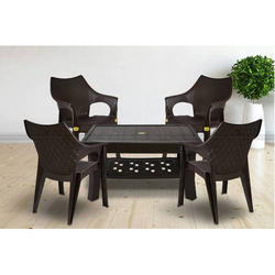 Plastic Table And Chairs At Rs 1969 Piece Tables Id 15690198812 Sc 1 St Indiamart