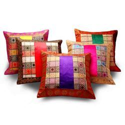 Velvet And Brocade Cushion Cover 101