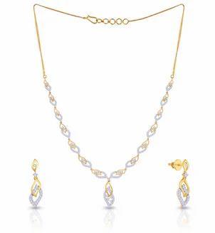 ca48a939d Mine Diamond Necklace Set Ne65132013, Rs 167165 /set, Malabar Gold Diamonds  | ID: 18676398930