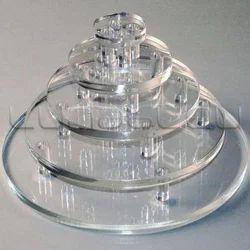 Acrylic Layer Cake Display Stand
