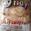 Orlay 500 Gm Plain Potato Chips, Packaging Type: Packet