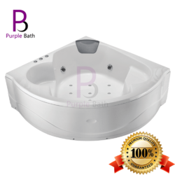 Klera Corner Jacuzzi Massage Bathtub