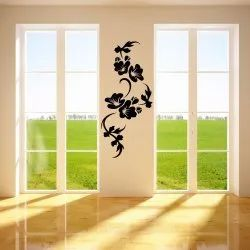 PVC Sticker Sheet Black Wall Decal Oracal 638