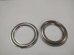 Stainless Steel Eyelets For Curtains, For Home, Shape: Round
