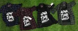 Cotton 3/4th Length Kids Shirt 1 Stylish Trendy Kids Wear