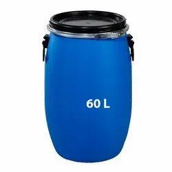 HDPE 60 Liter Powder Packing Full Open Top Drum