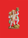 Colorful Hanuman With Gadha