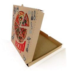 Pizza Image Printed Packaging Corrugated 12 x 12 x 1.5 Box