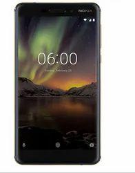 Nokia 6 1 Blue Golden Mobile Phone