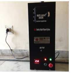 Sanitary Napkin Incinerator Machine, Capacity: 30 kg/batch