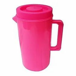 Pink Round 2 L Plastic Water Jug, For Hotel