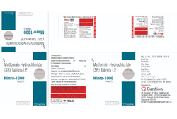 Metformin Hydrochloride IP 1000 Mg Tablets