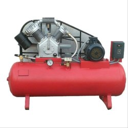5 HP Two Stage Centrifugal Air Compressor, Maximum Flow Rate (cfm): 30 - 50 Cfm