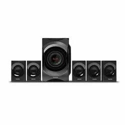 Philips Black Home Theater Multimedia Speaker