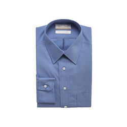Mens Cotton Plain Shirt, Size: S - XL