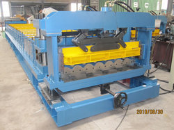 High Speed Glazed Tile Roll Forming Machine