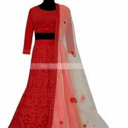 Latest Designer Beautiful Red Lahenga Choli