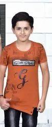 Boys Blue Casual T Shirt
