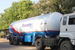 LPG Gas Tanker