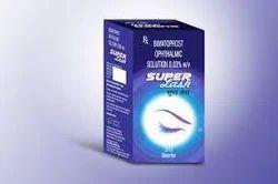 Allopathic Bimatoprost Ophthalmic Solution 0.03% w/v.