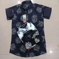 Men Casual Printed Shirt
