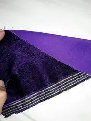 48-Micro 2 Tone 9100 Grey Raw Velvet Fabrics, For In Garment