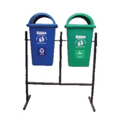Sintex Waste Bin With Double Stand