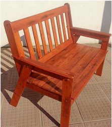 Home Craft Polished Armless Chair