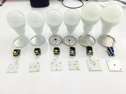 Led Raw Material (philips Type Hpf), 5 W And Below, Shape: Round