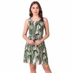 Tropical Short Dress