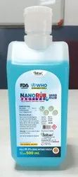 Nanorub Active Ethyl Alcohol Based Hand Rub in 500 ml Pack