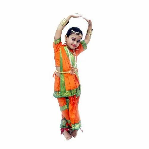 ea4e9b201176 Classical Dance Costume - BHARATIYANATYAM DRESS Manufacturer from ...