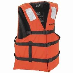 Oranfe Nylon Life Jacket for Sea Patrolling