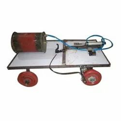 Automatic Pneumatic Breaking System Model