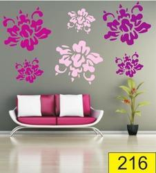 Stylish PVC Wall Stencil