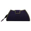 Jute And Cotton Clutch