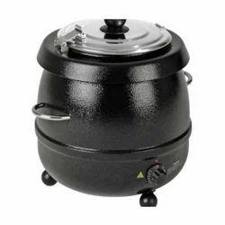 400W Black Kettel Electric Soup Kettle, Capacity(Litre): 10 Liter