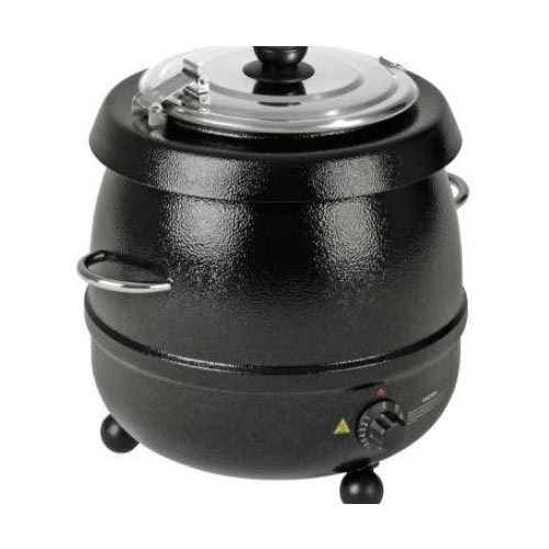 Black Electric Soup Kettle, For Soup Making
