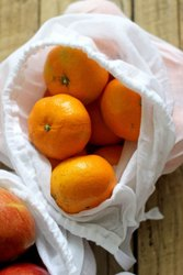 Soft Cotton Fruits Produce Bags