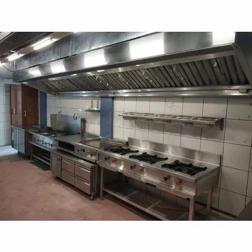 Kitchen Exhaust Hood With Supply Air Plenum