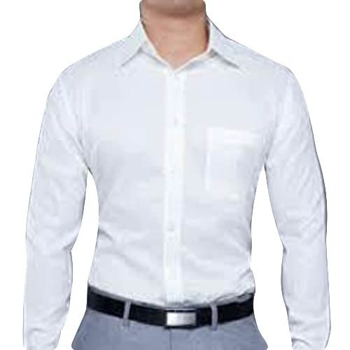 88509ac96ddcf Cotton White Mens Formal Shirt