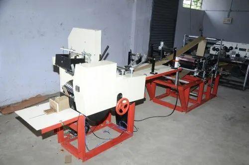 Handbag Fully Automatic Paper Bag Making Machine, Capacity: 7500 TO 8750