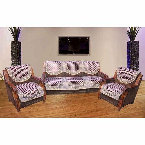 Cotton Five Seater Sofa Cover Set Rs 500 Piece Utsav Home Retail