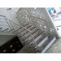 Silver Designer Steel Railing