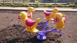 Duck Ridding Merry Go Round