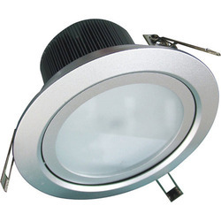 Pure White Copper LED Downlight, IP Rating: IP40